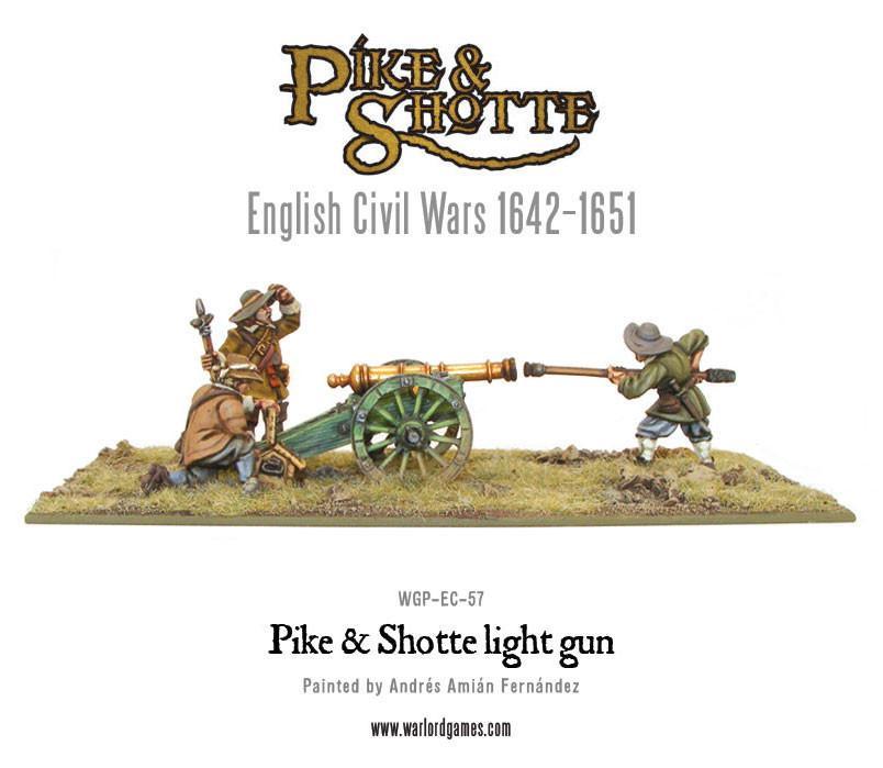 Pike & Shotte Light Gun & Crew