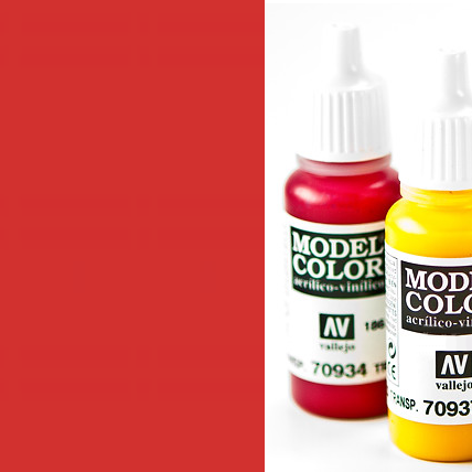 Model Color 909 - Vermillion