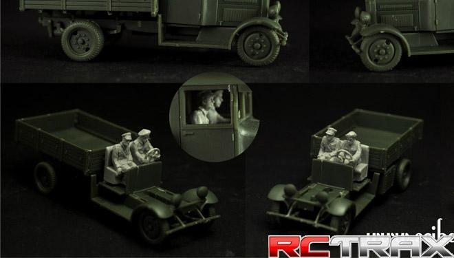 1:72 Polish Fiat 621 Crew Set