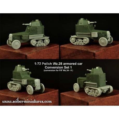 1:72 Polish Wz. 28 Conversion Set 1
