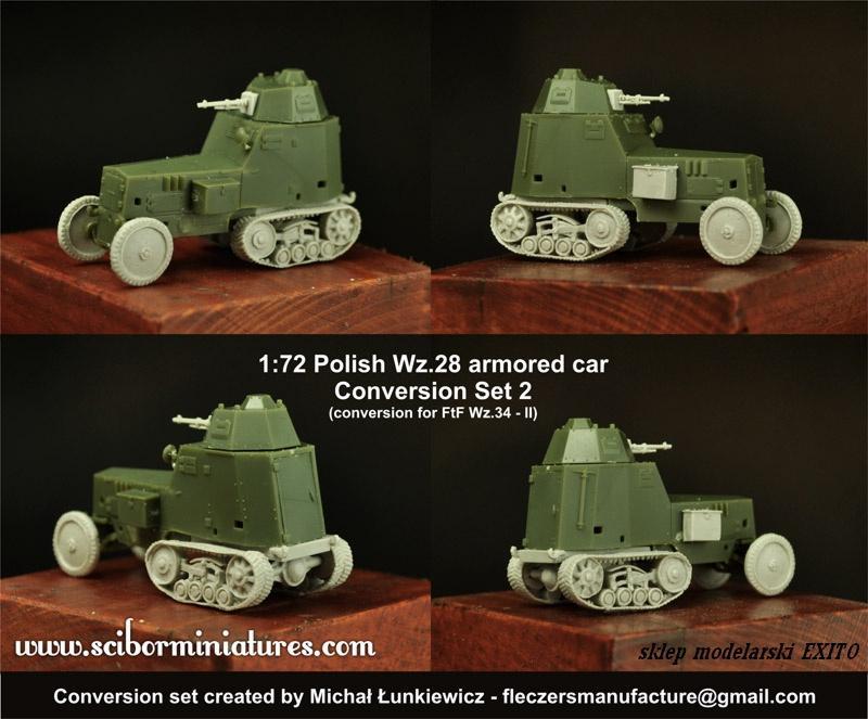 1:72 Polish Wz. 28 Conversion Set 2