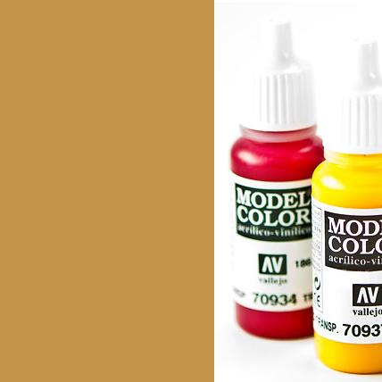 Model Color 913 - Yellow Ochre