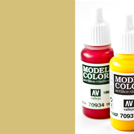Model Color 916 - Sand Yellow