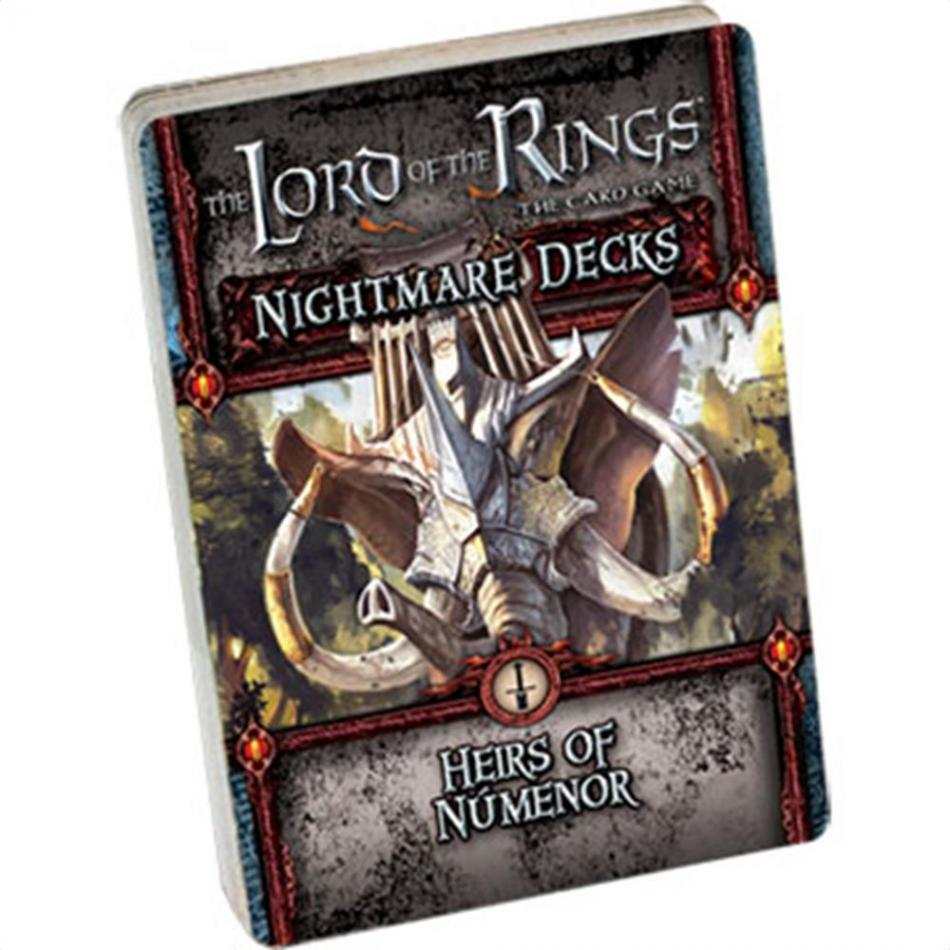 Lord of the Ring LCG -Heirs of Numenor Nightmare decks (POD)