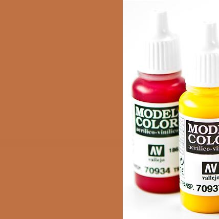 Model Color 929 - Light Brown