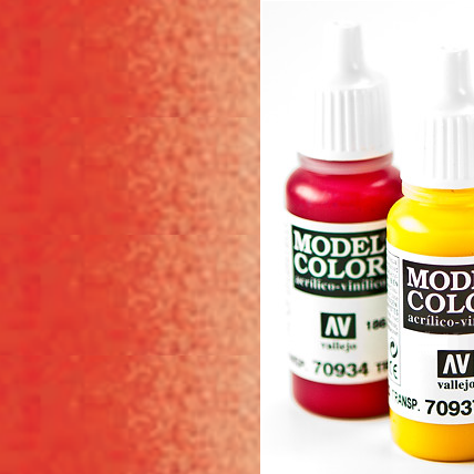 Model Color 934 - Transparent Red