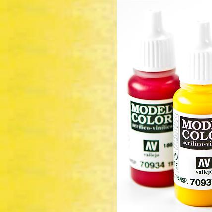 Model Color 937 - Transparent Yellow