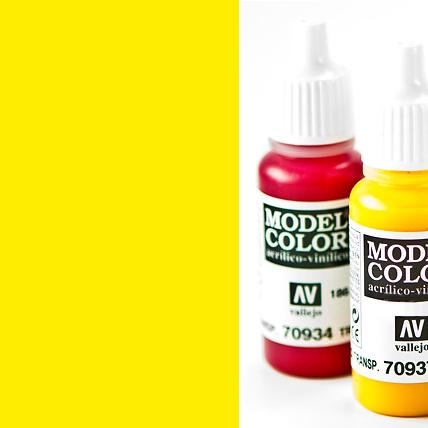 Model Color 952 - Lemon Yellow