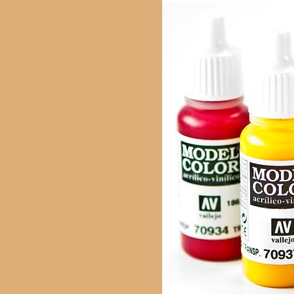 Model Color 955 - Flat Flesh