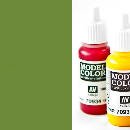 Model Color 967 - Olive Green