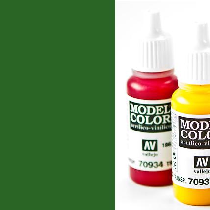 Model Color 968 - Flat Green