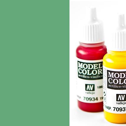 Model Color 974 - Green Sky