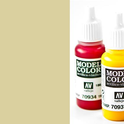Model Color 976 - Buff