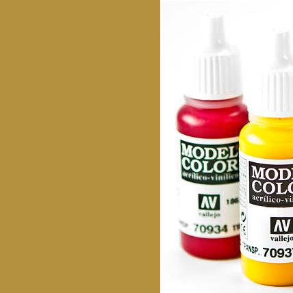 Model Color 977 - Desert Yellow