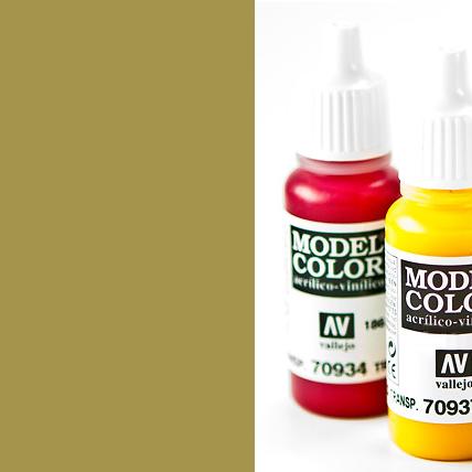Model Color 978 - Dark Yellow