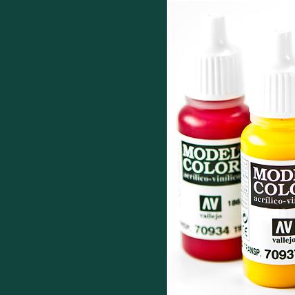 Model Color 980 - Black Green
