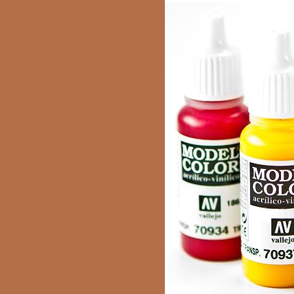 Model Color 981 - Orange Brown