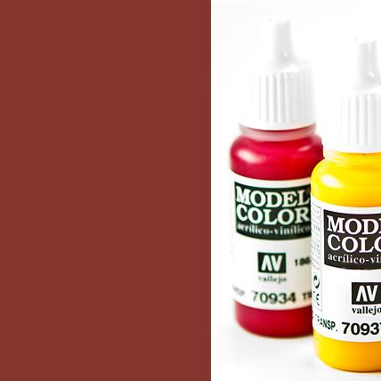 Model Color 982 - Cavalry Brown