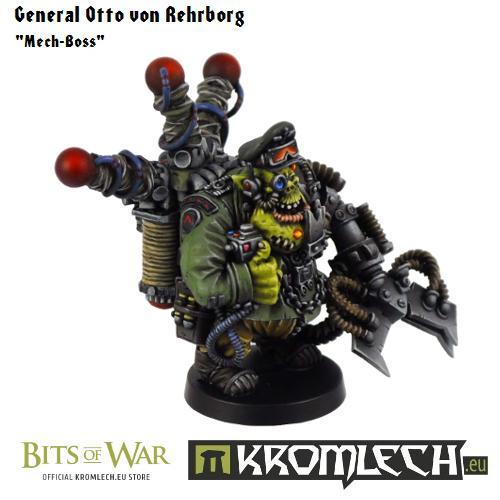General Otto Von Rehrburg