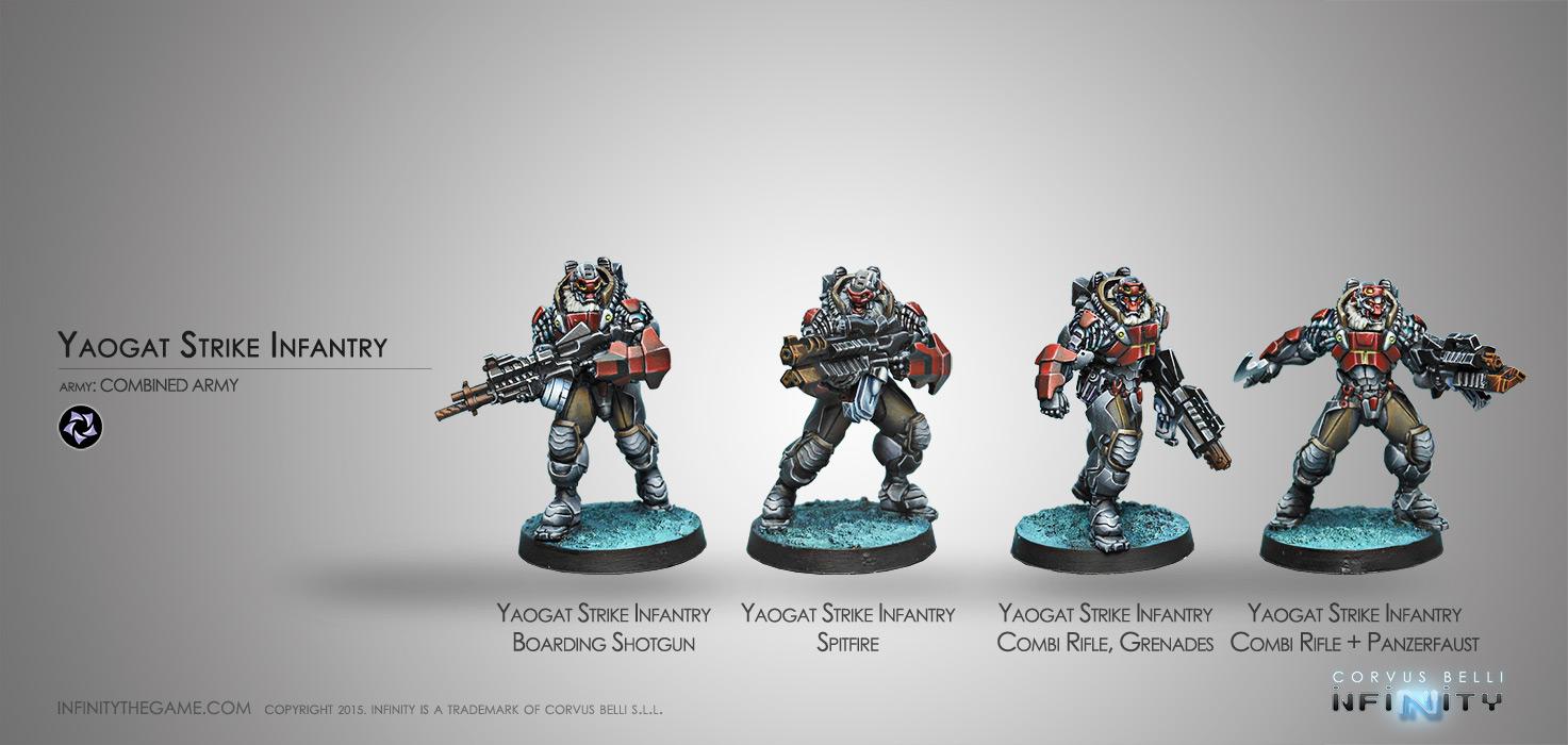 Yaogat Strike Infantry (box of 4)