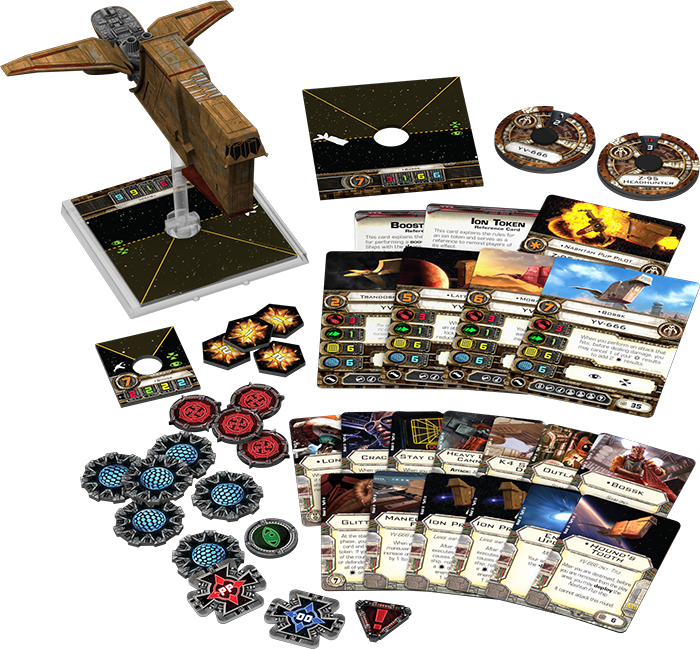 Star Wars X-Wing Hounds Tooth Expansion Pack