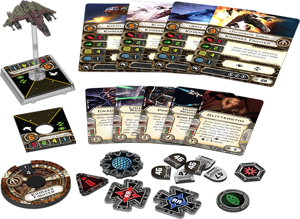Star Wars X-Wing Kihraxz Fighter Expansion Pack
