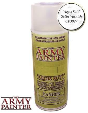 Base Primer - Aegis Suit Satin Varnish