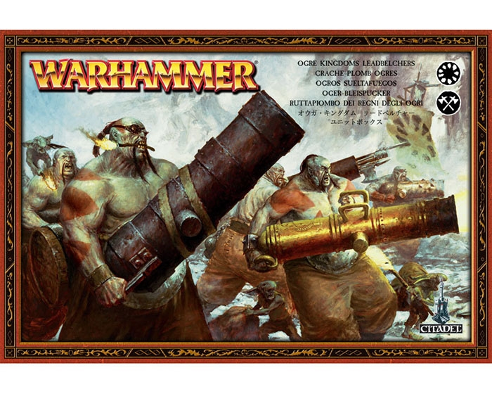 Ogre Kingdoms: Leadbelchers