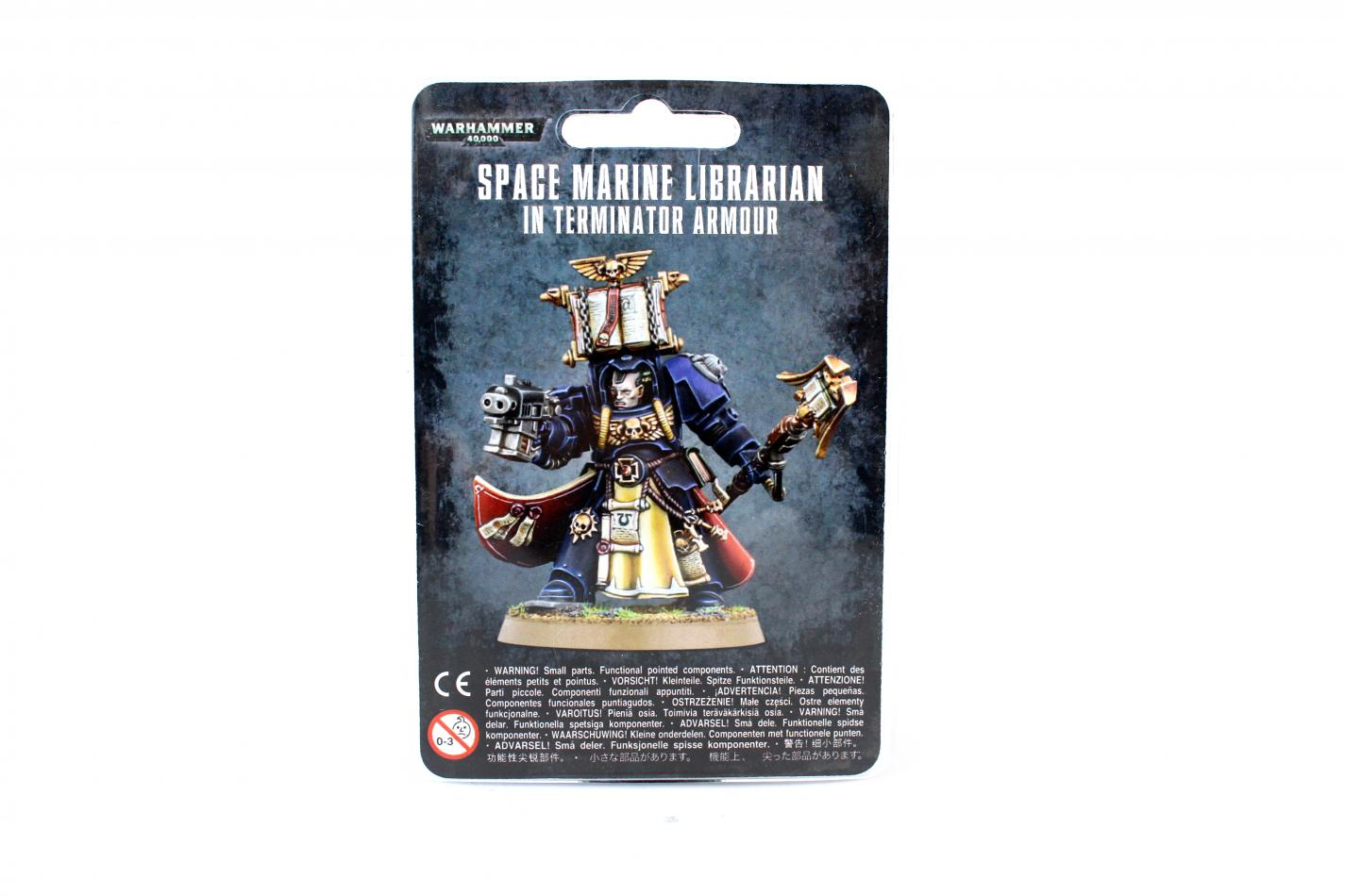 Space Marine Librarian In Terminator Armour (New)