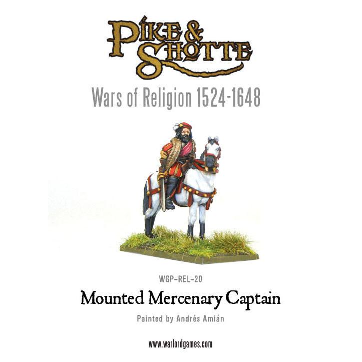 Mercenery Captain Mounted (War of Religion)