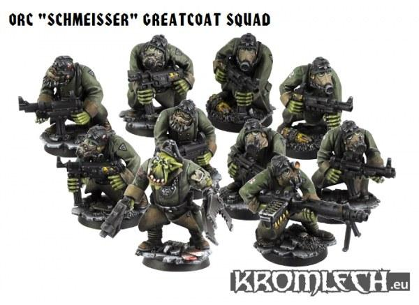 Orc Schmeisse Greatcoats Squad (10) (Armoured bodies)