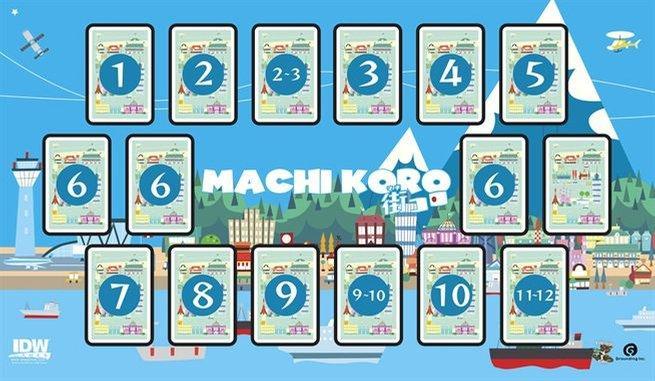 Deluxe Game Mat: Machi Koro
