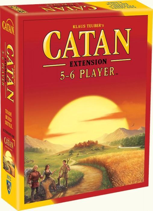 Catan 5 & 6 Player Exp (2015 Refresh)