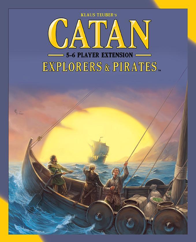 Explorers & Pirates 5 & 6 Player: Catan Exp (2015 Refresh)