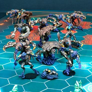 Kalimarin Ancients - Nameless Team: Dreadball Exp