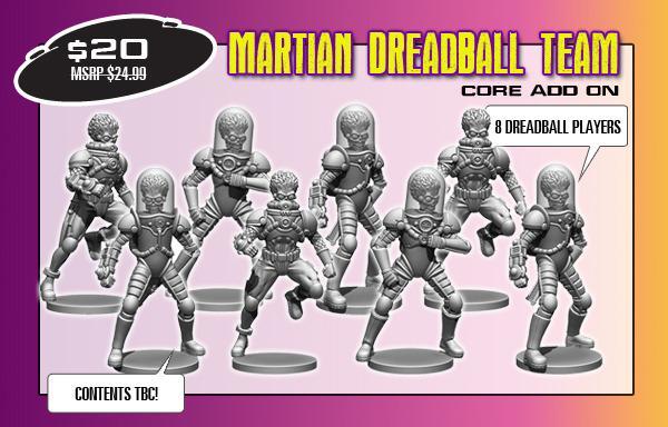 Martian Dreadball Team