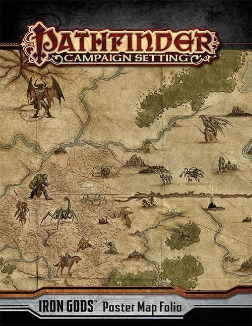Pathfinder Campaign Setting: Iron Gods Poster Map Folio