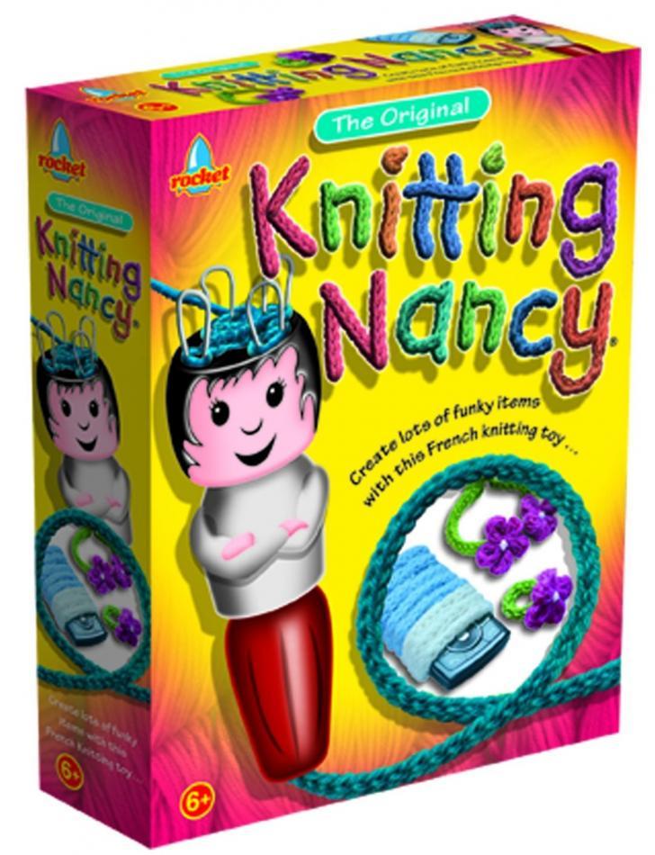 Knitting Nancy