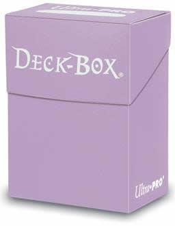 Lilac Deck Box (Single Unit)