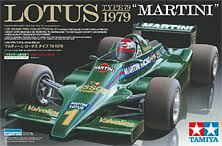 Lotus 79 1979 Etch Parts