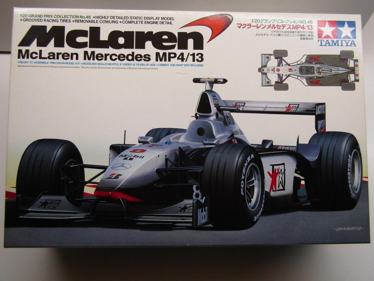 McLaren MP4-13 Mercedes Coulthard   LTD