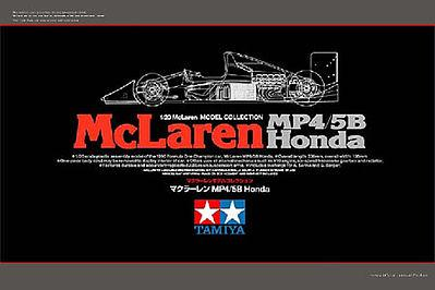 1/20 McLaren Honda MP4/5B Senna LTD