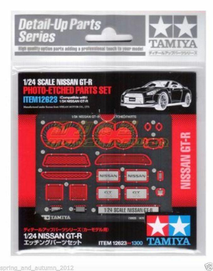 Nissan GT-R R35 Etched Parts LTD