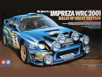 Subaru Impreza 2001 GB rally