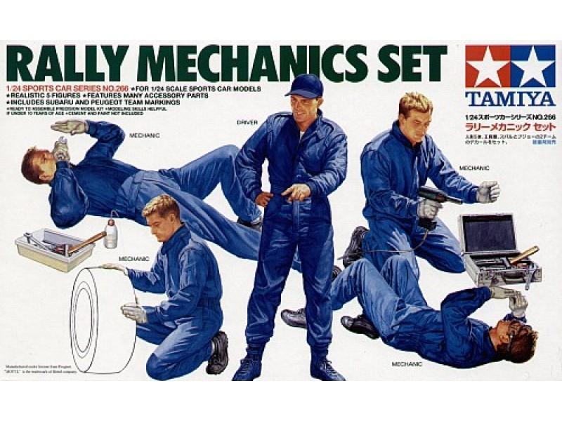 Rally Mechanics & Equipment Set