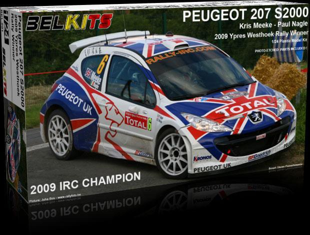 1/24 Peugeot 207 S2000 Rally
