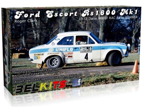 1/24 Ford Escort MKI Rally 1972