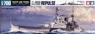 British Battle Cruiser HMS Repulse