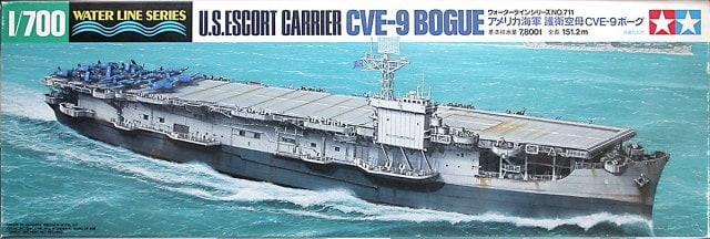 U. S. Escort Carrier CVE-9 Bogue