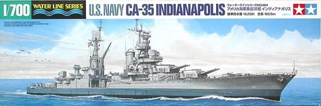 U. S. Navy CA-35 Indianapolis